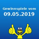 Gewinnspiele vom 09.05.2019