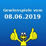 Gewinnspiele vom 08.06.2019