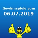 Gewinnspiele vom 06.07.2019