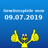 Gewinnspiele vom 09.07.2019