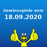 Gewinnspiele vom 18.09.2020