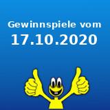Gewinnspiele vom 17.10.2020