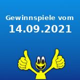 Gewinnspiele vom 14.09.2021