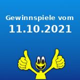 Gewinnspiele vom 11.10.2021