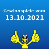 Gewinnspiele vom 13.10.2021