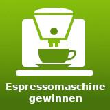 Espressomaschine Gewinnspiele