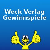 Weck Verlag Gewinnspiele